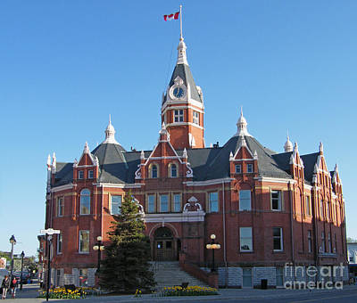Photograph - City Hall - Stratford On Avon - Canada by Phil Banks