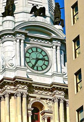 City Hall Tower Philadelphia Original by Ira Shander