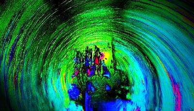 Tsunami Digital Art - City In Tsunami by David Lee Thompson