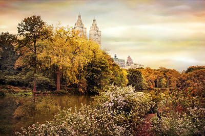Fall Foliage Digital Art - Autumn At San Remo by Jessica Jenney