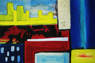 City Life Original by Jeff Barrett