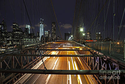 Photograph - City Lights by Alison Tomich