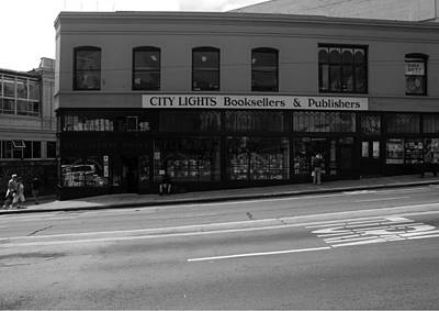 Kerouac Photograph - City Lights Booksellers by Aidan Moran