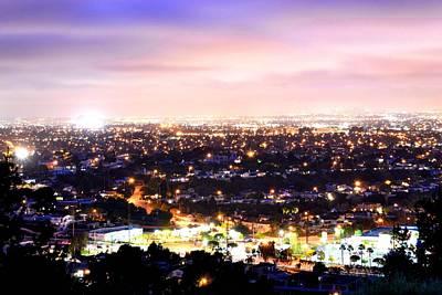 Photograph - City Lights by Brandon Garcia