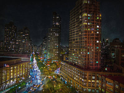 Photograph - City Lights by Hanny Heim