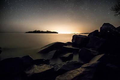 Lakeshore Drive Photograph - City Lights by Jakub Sisak