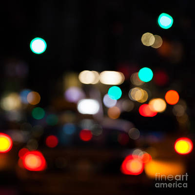 Night City Photograph - City Lights  by John Farnan