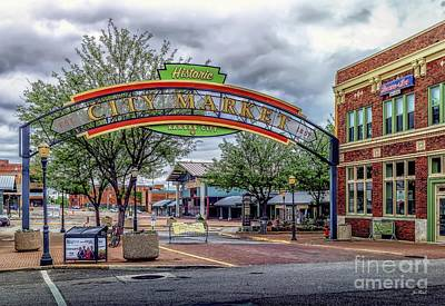 Photograph - City Market by Jon Burch Photography