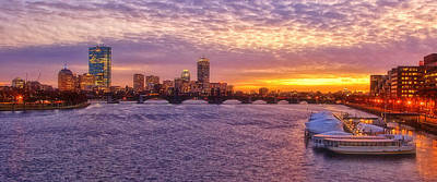 Charles River Photograph - City Nights by Joann Vitali
