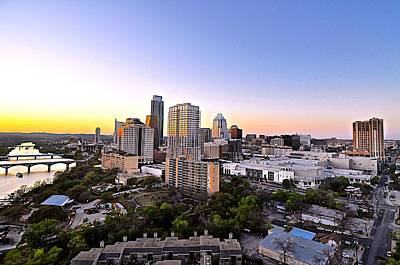Photograph - City Of Austin Texas by Kristina Deane