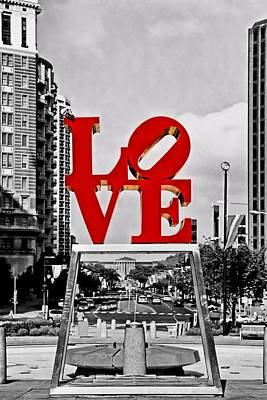 Northeast Philly Photograph - City Of Brotherly Love by DJ Florek