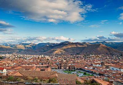 Photograph - City Of Cuzco by Ulrich Schade