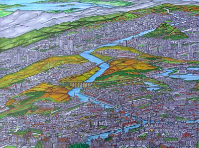 City Of  Divarna Art Print