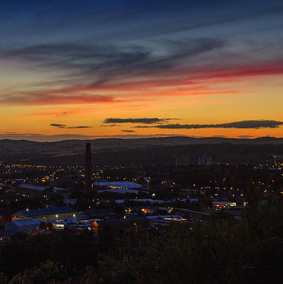 Photograph - City Of Dundee Sunset by Fiona Messenger