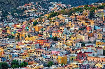 City Of Guanajuato Art Print