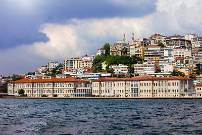Old Home Place Photograph - City Of Istanbul Cityscape by Artur Bogacki