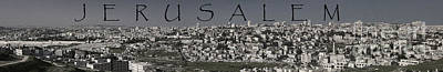 Photograph - City Of Jerusalem by Tom Griffithe