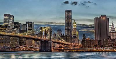 Arnie Goldstein Photograph - City Of Lights by Arnie Goldstein