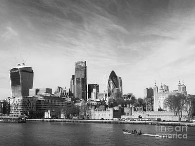 City Of London  Print by Pixel Chimp