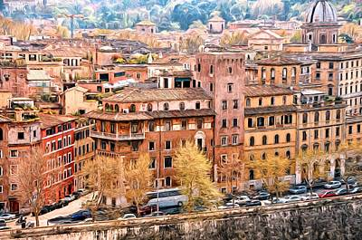 Photograph - City Of Rome by Bill Howard