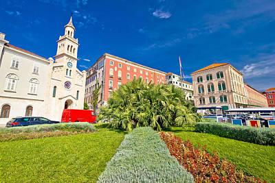Photograph - City Of Split Nature And Architecture by Brch Photography