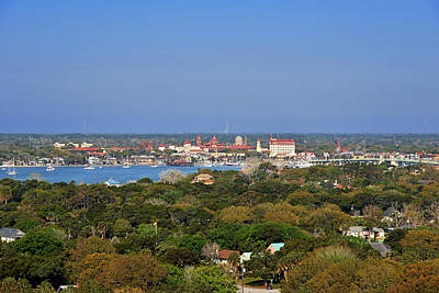 City Of St Augustine Florida Art Print