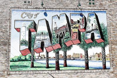 Photograph - City Of Tampa by Robert Palmeri