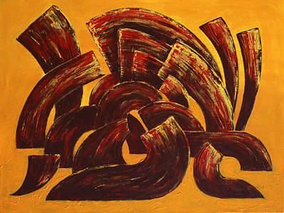 Painting - City Of Winds by Siyavush Mammadov
