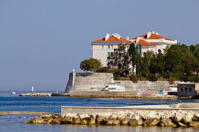 Photograph - City Of Zadar Walls And Waterfront by Brch Photography