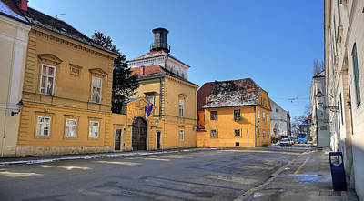 Photograph - City Of Zagreb Historic Upper Town by Brch Photography