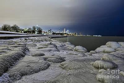 Photograph - City On Ice by Steven K Sembach