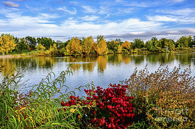 Fort Collins Photograph - City Park by Keith Ducker