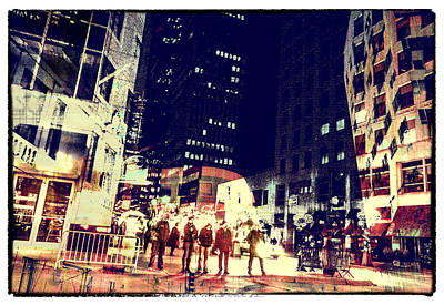 City People Art Print