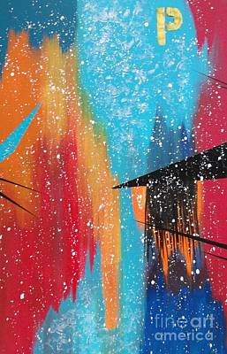 Painting - City Perspectives With A Broad Brush by Theresa Kennedy DuPay