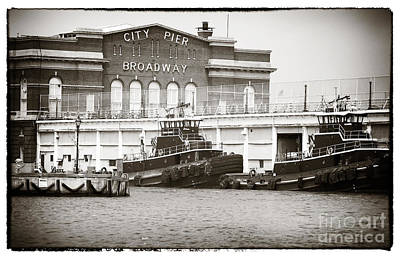 Photograph - City Pier Broadway by John Rizzuto