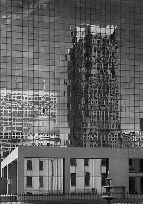 Photograph - City Reflections by Harold Rau