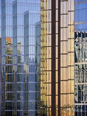 Photograph - City Reflections by Sandra Bronstein