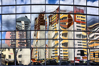 Photograph - City Reflections by Vladimir Kholostykh