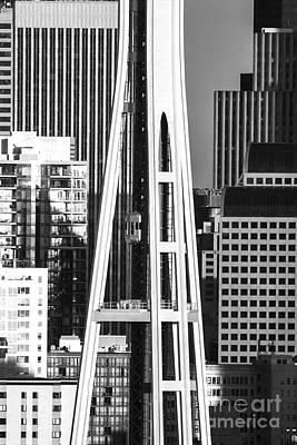 Photograph - City Shapes by Sonya Lang