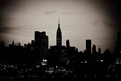 Photograph - City Silhouette by Sara Frank