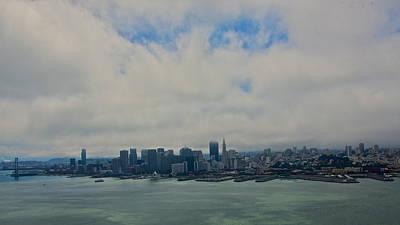 Photograph - City Skyline San Francisco Aerial by Steven Lapkin