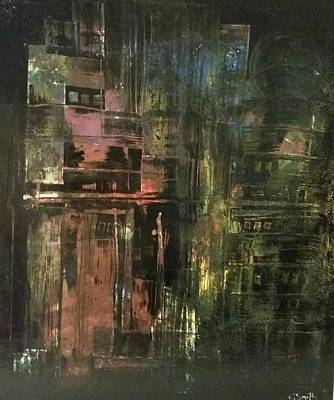 Painting - City Slums  by Gerry Smith