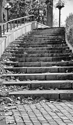 City Steps 1 Art Print