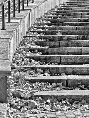 City Steps 2 Art Print