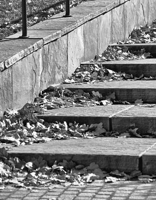 City Steps 3 Art Print