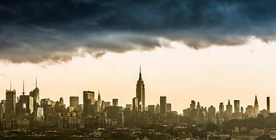 City Storm Art Print