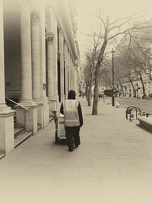 Charing Cross Photograph - City Streets 2 by Sharon Lisa Clarke
