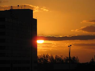 Photograph - City Sunset by MTBobbins Photography
