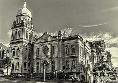 Photograph - City Tabernacle by Peter Lombard