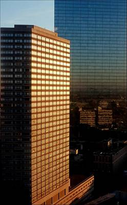 Jerry Sodorff Royalty-Free and Rights-Managed Images - City Towers by Jerry Sodorff